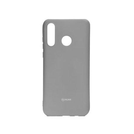 "Silikonski etui ""Roar All Day"" za Huawei P30 Lite, siva barva"