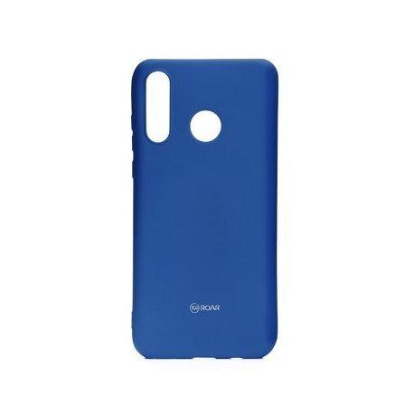 """Silikonski etui """"Roar All Day"""" za Huawei P30 Lite, modra barva"""