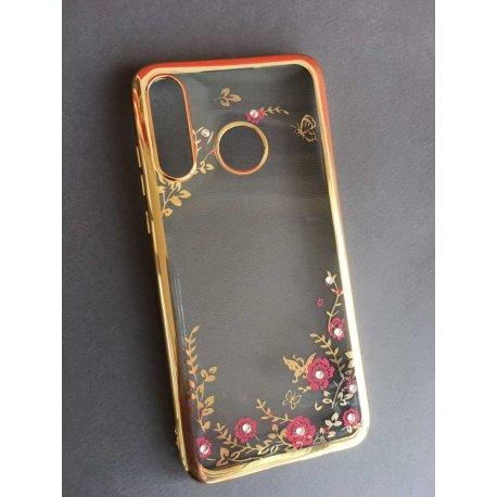 "Etui ""Diamond Case"" za Huawei P30 Lite, zlata barva"
