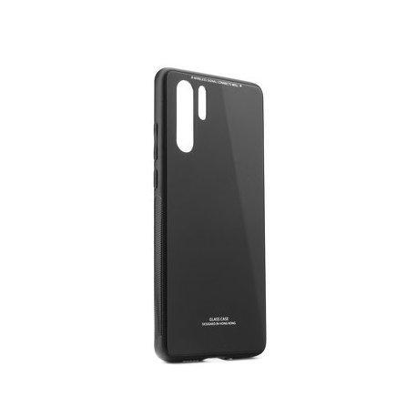 Glass Case za Huawei P30 Pro, črna barva