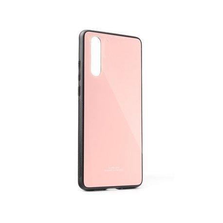 Glass Case za Samsung Galaxy A50, pink barva