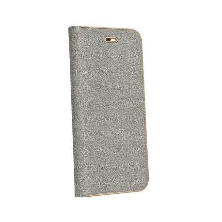 "Preklopna Torbica ""Luna"" za Samsung Galaxy A50, siva barva"