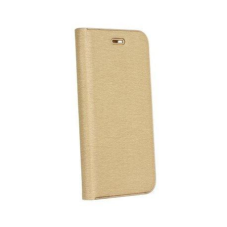 "Preklopna Torbica ""Luna"" za Samsung Galaxy A50, zlata barva"
