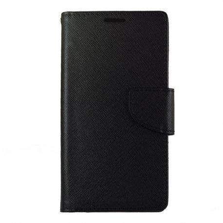 """Preklopna Torbica """"Fancy"""" za LG G8s ThinQ, Črna barva"""