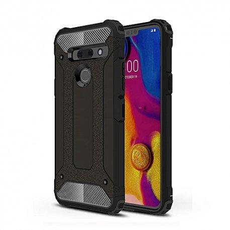 "Etui ""Armor"" za LG G8s ThinQ, črna barva"