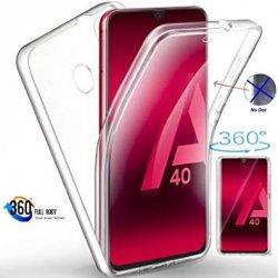 Silikonski etui 360 za Samsung Galaxy A40, prozoren