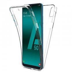 Silikonski etui 360 za Samsung Galaxy A50, prozoren