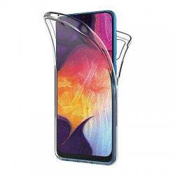 Silikonski etui 360 za Samsung Galaxy A60, prozoren