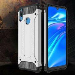 "Etui ""Armor"" za Huawei Y7 2019, srebrna barva"