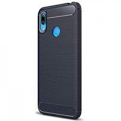 """Etui """"Carbon Case"""" za Huawei Y7 2019, črna barva"""