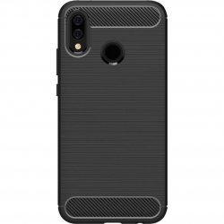 "Etui ""Carbon Case"" za Huawei Honor 10 Lite, črna barva"