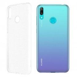 Silikonski etui za Huawei Y7 2019, Prozorna barva