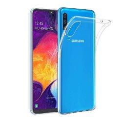 Silikonski etui za Samsung Galaxy A50, Prozorna barva