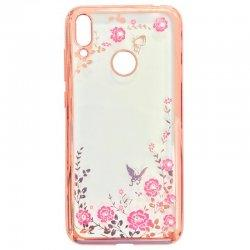 "Etui ""Diamond Case"" za Huawei Honor 10 Lite, pink barva"