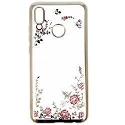 "Etui ""Diamond Case"" za Huawei Honor 10 Lite, zlata barva"