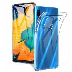 Silikonski etui za Samsung Galaxy A20, Prozorna barva