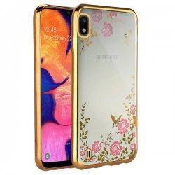 """Etui """"Diamond Case"""" za Samsung Galaxy A10, zlata barva"""