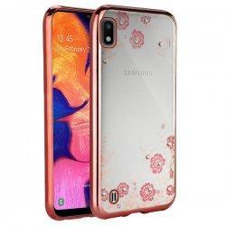 "Etui ""Diamond Case"" za Samsung Galaxy A10, pink barva"