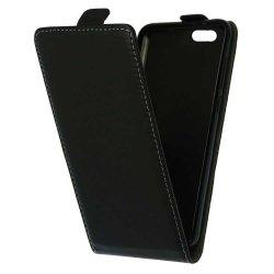 "Preklopna torbica, etui ""flexi"" za Huawei Honor 7s, črna barva"