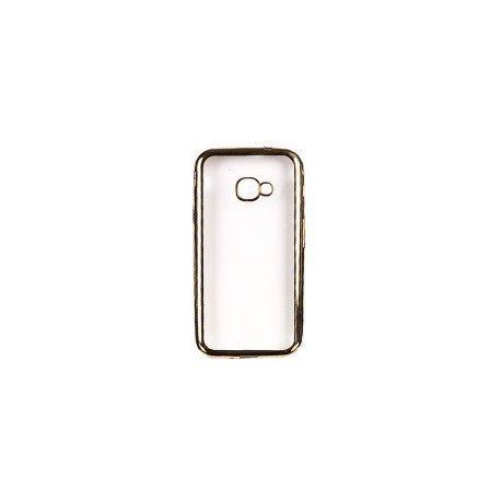 """Etui """"Clear Case"""" za Samsung Galaxy Xcover 4s, zlata barva"""