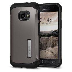 Spigen Slim Armor za Samsung Galaxy Xcover 4s, Gunmetal barva