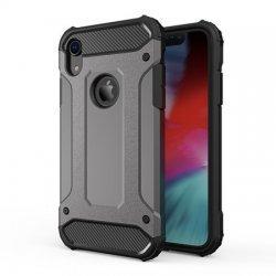 "Etui ""Armor"" za Apple iPhone XR, siva barva"
