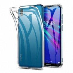 Silikonski etui za Huawei Y5 2019, 0,3mm, Prozorna barva