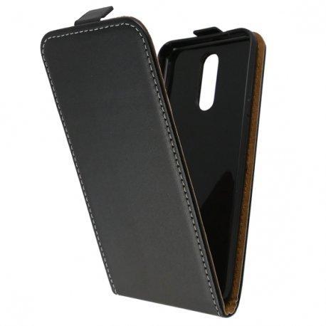 "Preklopna torbica, etui ""flexi"" za LG K40, črna barva"