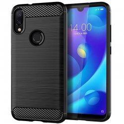 "Etui ""Carbon Case"" za Xiaomi Redmi Note 7, črna barva"