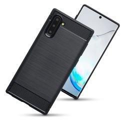 "Etui ""Carbon Case"" za Samsung Galaxy Note 10, črna barva"