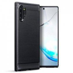 "Etui ""Carbon Case"" za Samsung Galaxy Note 10 Pro, črna barva"