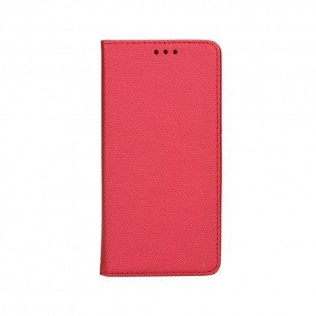 """Preklopna torbica """"Smart Book"""" za LG Q60, rdeča barva"""
