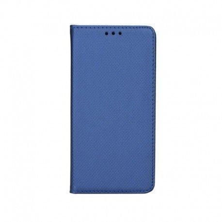 """Preklopna torbica """"Smart Book"""" za LG Q60, modra barva"""
