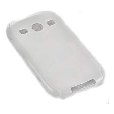 Silikonski etui za Samsung Galaxy Xcover 2, transparent bela