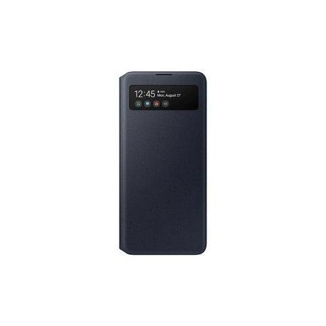 Preklopna torbica za Samsung Galaxy A51, čena barva, S View
