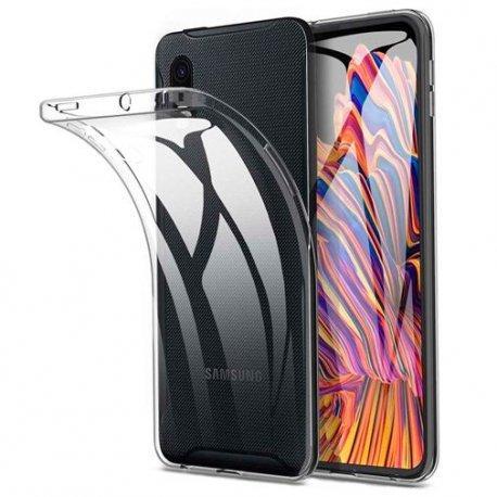 Silikonski etui za Samsung Galaxy Xcover Pro, 0,3mm, Prozorna barva
