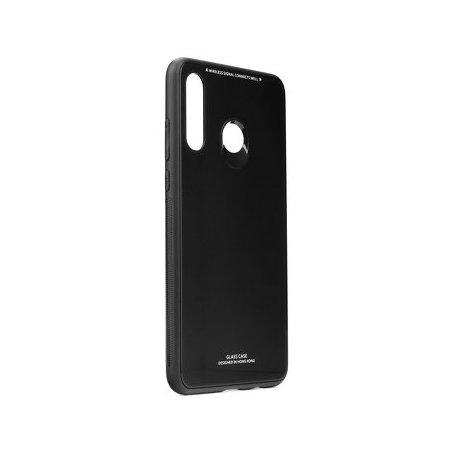 Glass Case za Huawei P40 Lite E, črna barva