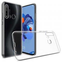 Silikonski etui za Huawei P20 Lite 2019, 0,3mm, Prozorna barva