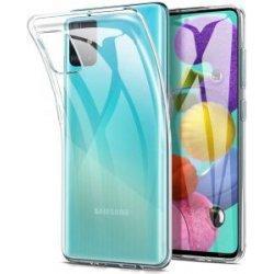Silikonski etui za Samsung Galaxy A51, 0,3mm, Prozorna barva
