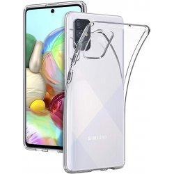 Silikonski etui za Samsung Galaxy A71, 0,3mm, Prozorna barva