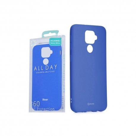 """Silikonski etui """"Roar All Day"""" za Huawei Mate 30 Lite, modra barva"""