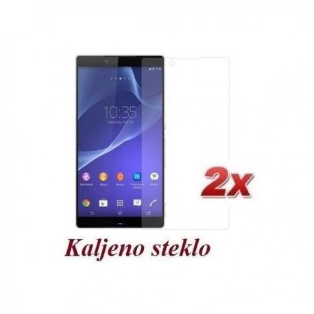 Zaščitno kaljeno steklo za Sony Xperia Z3 Trdota 9H, 0,3 mm Duo Pack