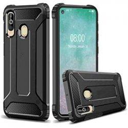 "Etui ""Armor"" za Samsung Galaxy A60, črna barva"