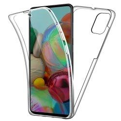 Silikonski etui 360 za Samsung Galaxy A71, prozoren