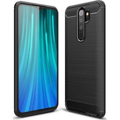 """Etui """"Carbon Case"""" za Xiaomi Redmi Note 8 Pro, črna barva"""