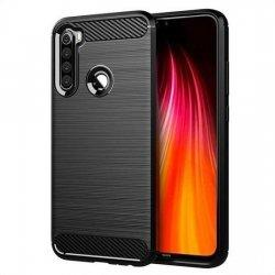 "Etui ""Carbon Case"" za Xiaomi Redmi Note 8, črna barva"