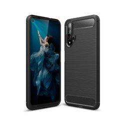 "Etui ""Carbon Case"" za Huawei Nova 5T, črna barva"