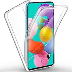 Silikonski etui 360 za Samsung Galaxy A51, prozoren