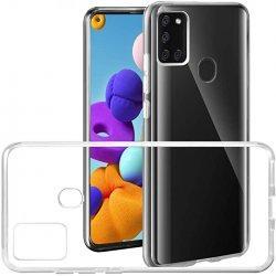 Silikonski etui za Samsung Galaxy A21s, 0,5mm, Prozorna barva