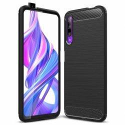 "Etui ""Carbon Case"" za Huawei P Smart PRO 2019, črna barva"